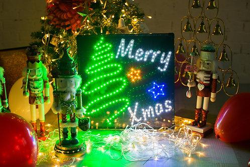 現貨-LED 聖誕燈牌