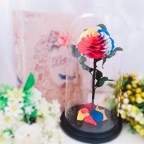 現貨 - [32cm]韓式手工永生玫瑰花(彩色)
