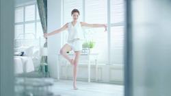 獅王舒適清涼足貼 x 周秀娜 2017 廣告