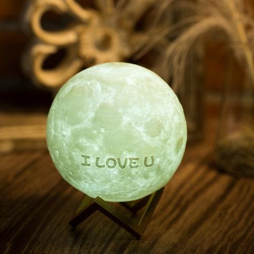 現貨 [I LOVE U] 月球夜燈