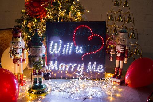 現貨-LED求婚燈牌
