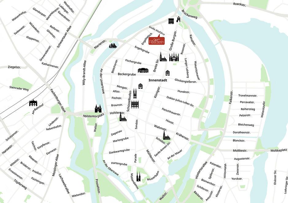 Sie finden uns im Norden der Lübecker Altstadtinsel, zwischen Innenstadt und Burgtor.