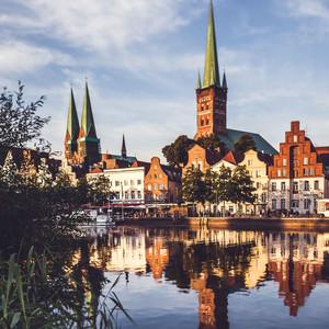 Sie wohnen auf Lübecks Altstadtinsel