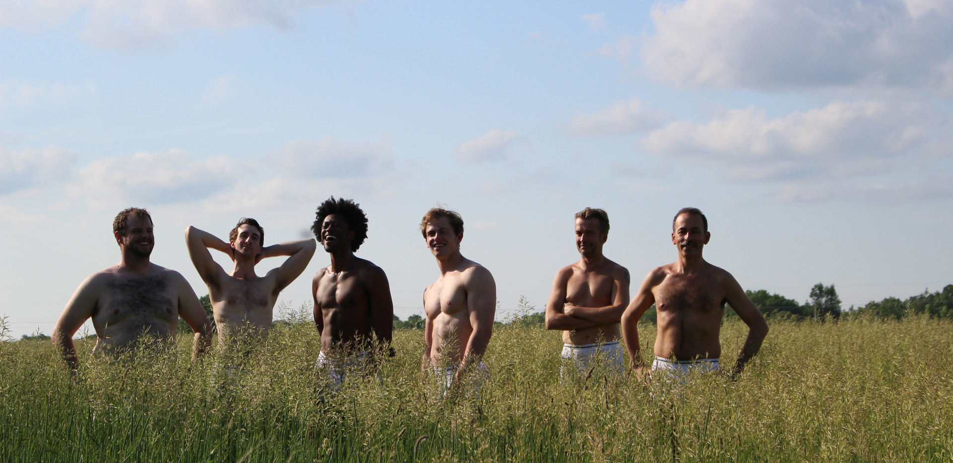 Full Monty Promo Shoot