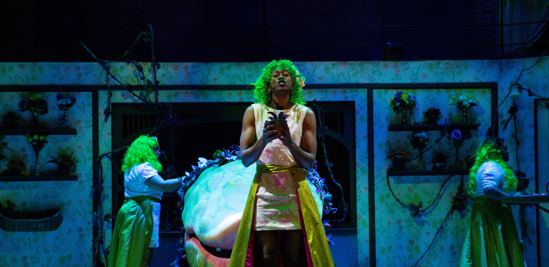 Garrick Vaughan in Little Shop of Horrors