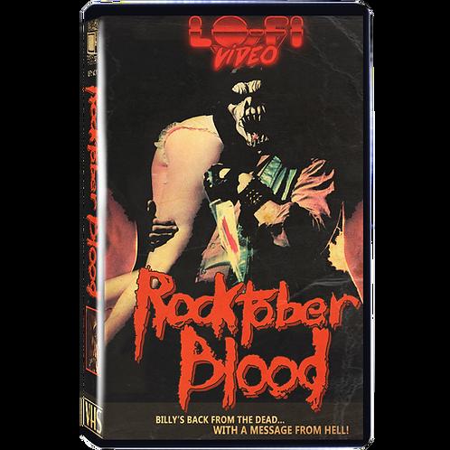 Rocktober Blood VHS