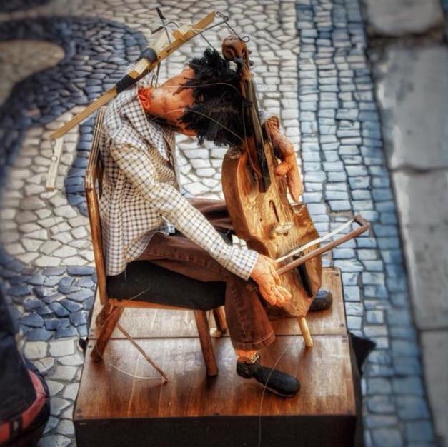Marionette Musician Silent