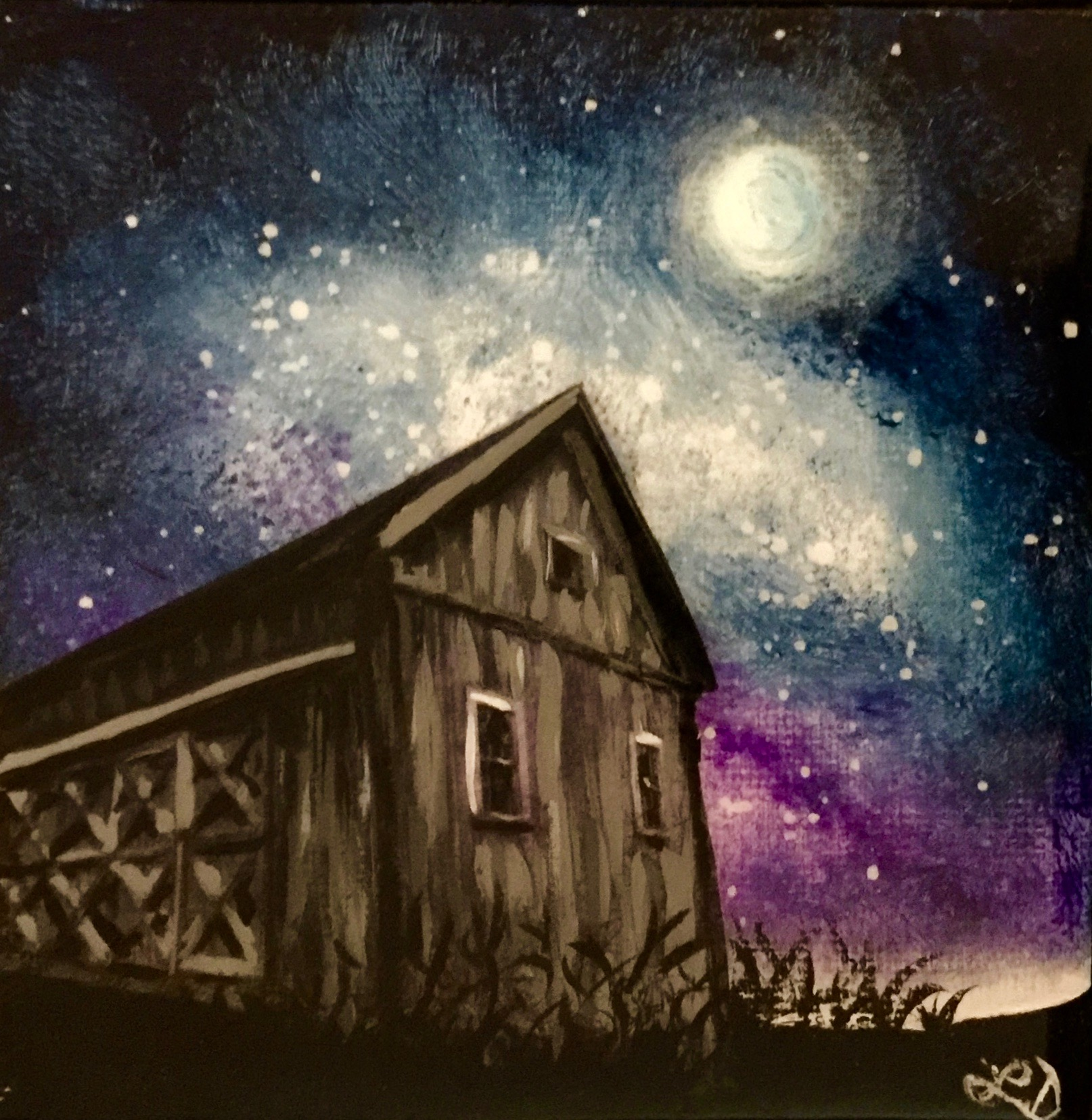 The Old Barn by Lisa D'Amico