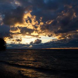 "Twilight Shore Andrew Maisonette 8"" x 10"" Photograph $125"