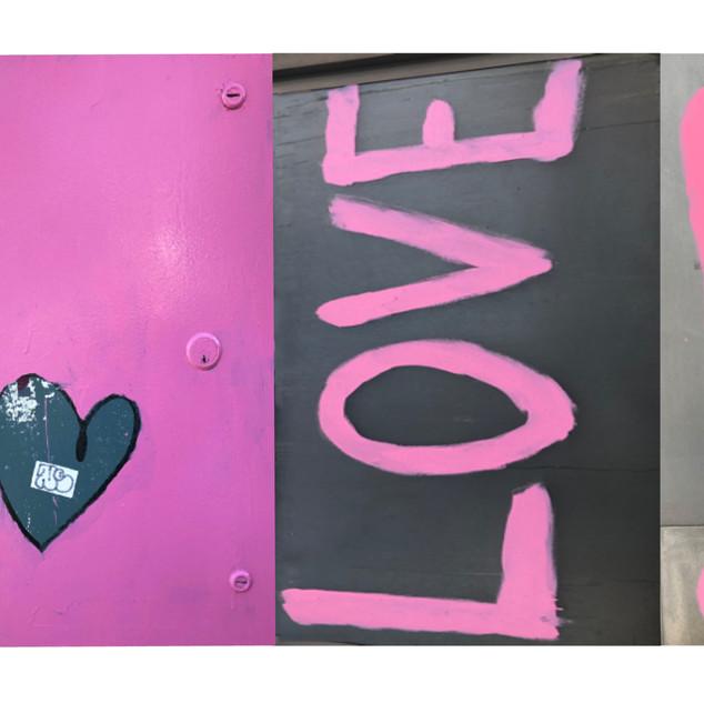 Larchmont Love Graffiti