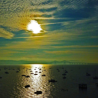 Sunrise over the Tappan Zee