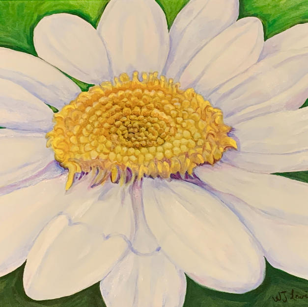 """Natural Glow by Wendy Lewis Acrylic on Canvas 20"""" x 16"""" (unframed)"""