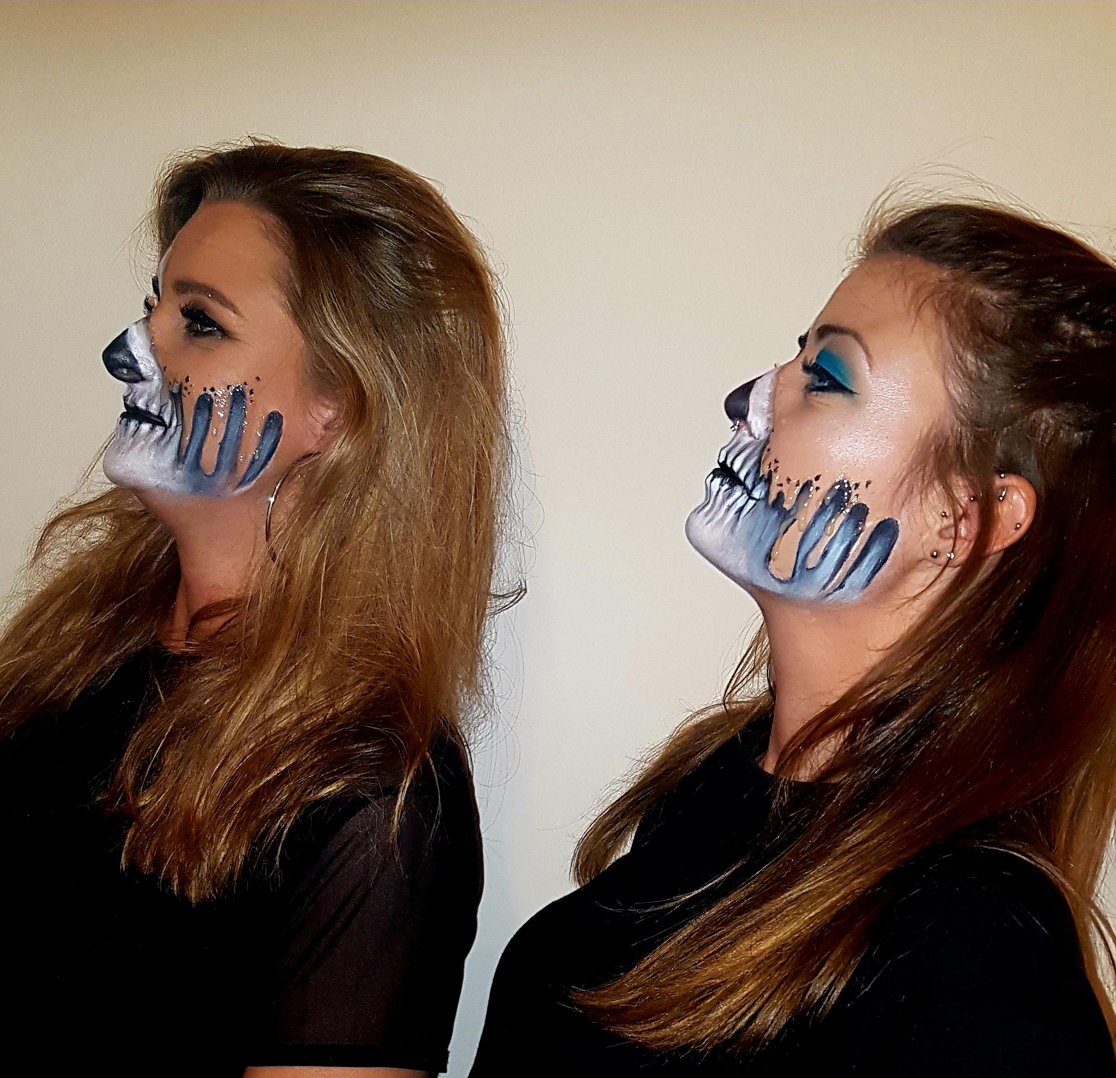 2x Client Dripping Face Makeup