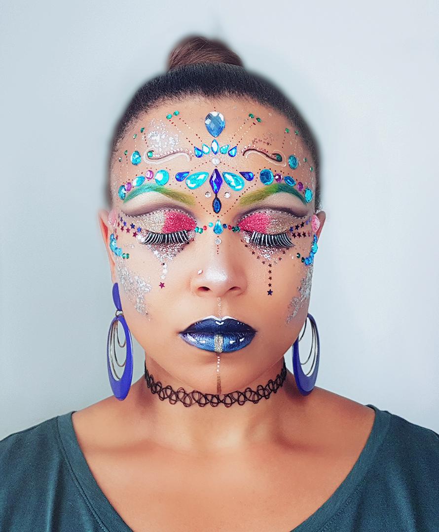Carnival/Festival Makeup