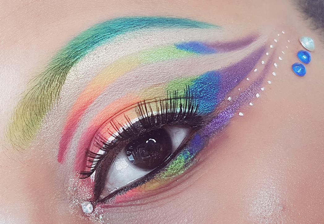 Multicoloured Makeup
