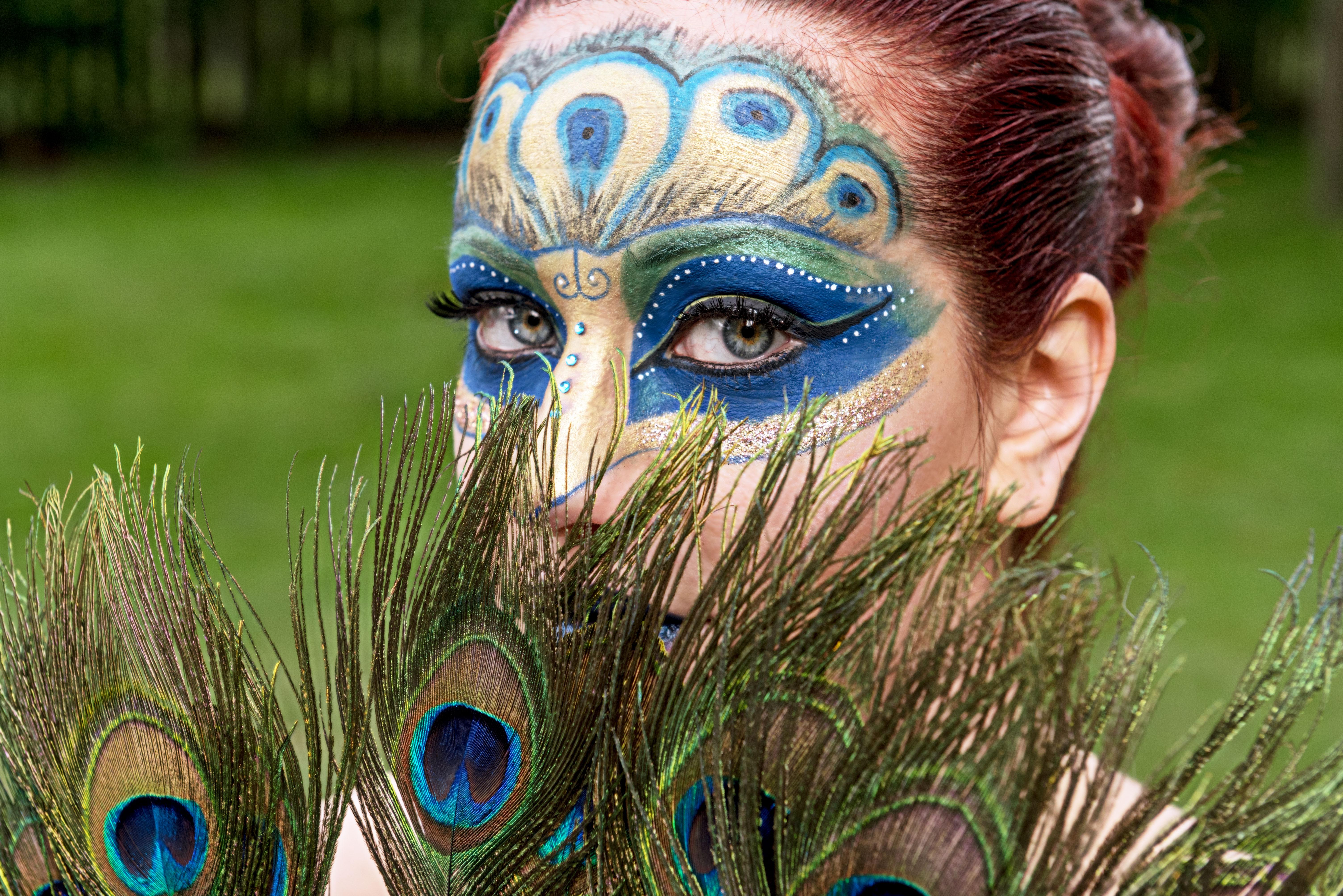 Peacock Makeup