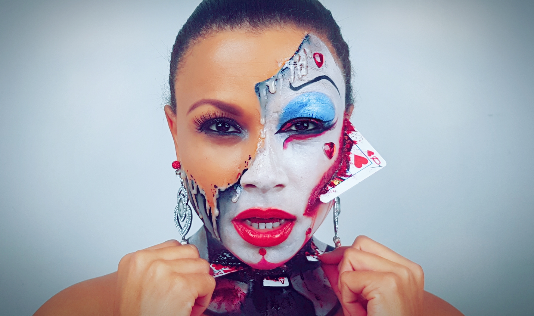 Half Queen of Hearts & Dripping Face