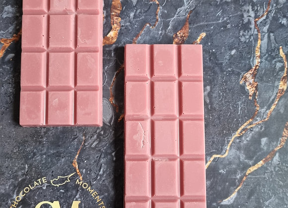 Simply Ruby chocolate bar