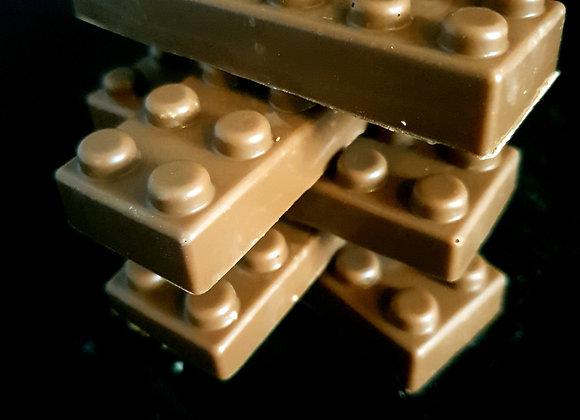 Chocolate building bricks