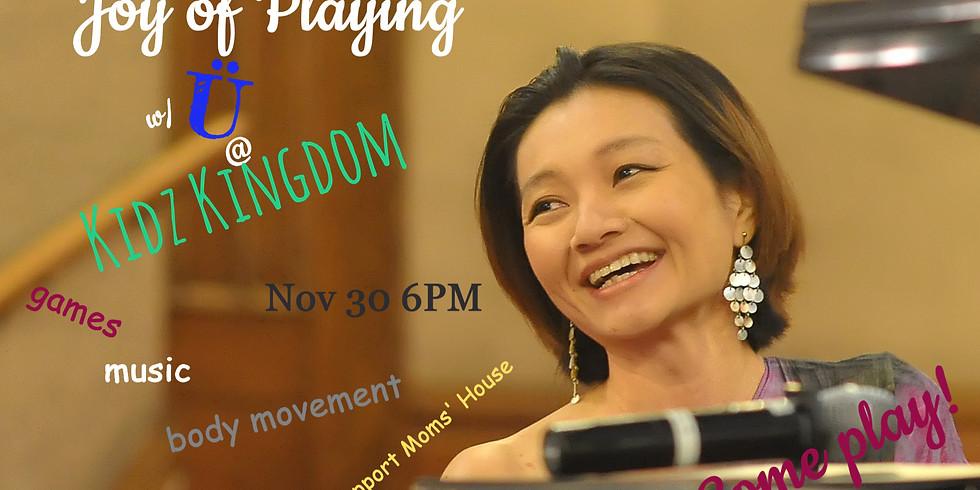 """Sponsor """"Joy of Playing with Ü"""" @ Kidz Kingdom"""