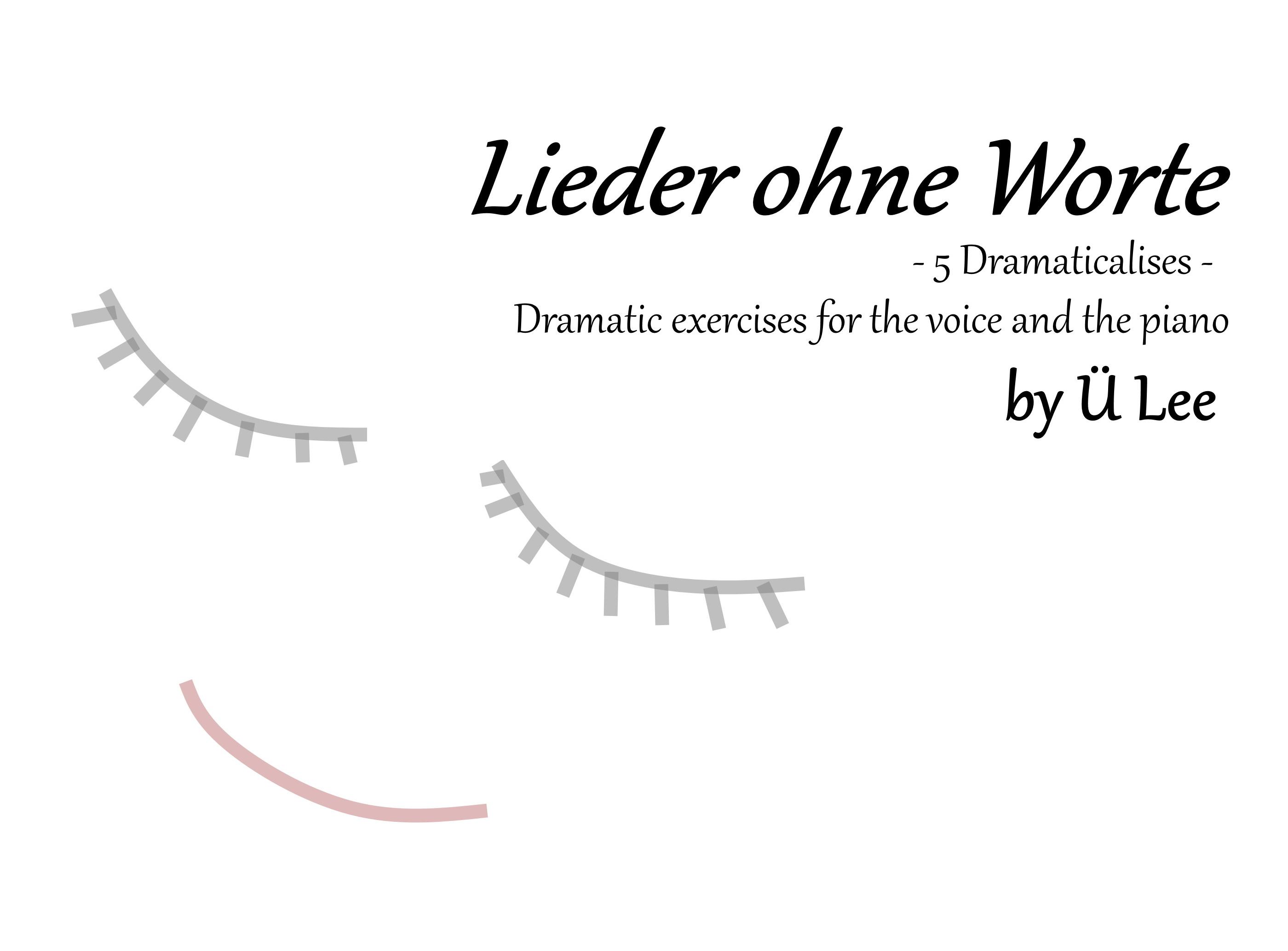 Lieder ohne Worte by Ü Lee