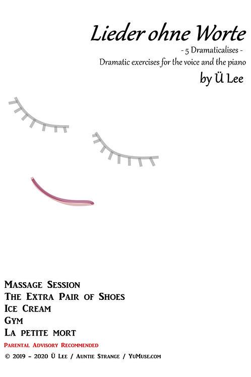 Lieder ohne Worte - Dramaticalises - Op 1 No 1 - 5 by ÜL