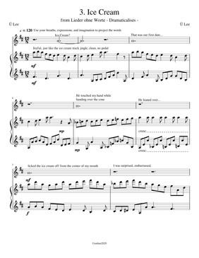 Act III Ice Cream (Score)