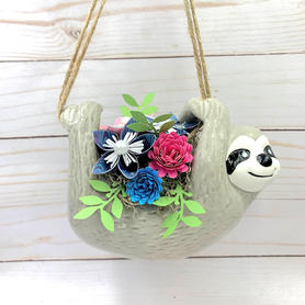 Sloth Flower Pot