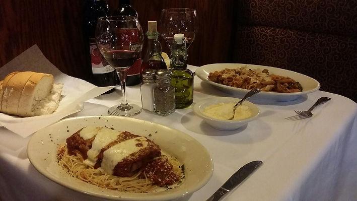 Eggplant Parmesan, Pasta, Pizza, Mama Mia Livonia,