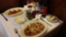 Eggplant Parm, Pasta, Vino, Mama Mia Livonia,