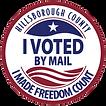 I Voted By Mail Sticker image-transparen