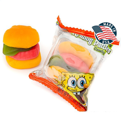 SPONGEBOB GIANT KRABBY PATTIES (4 PEZZI)
