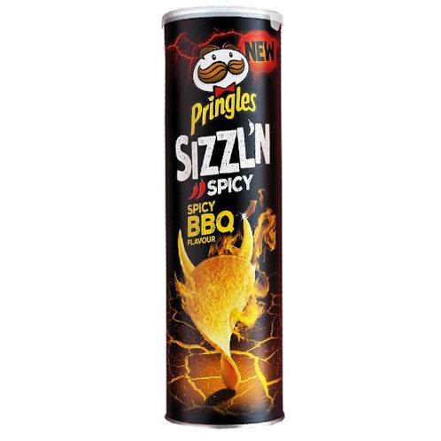 PRINGLES SIZZL'N SPICY BBQ
