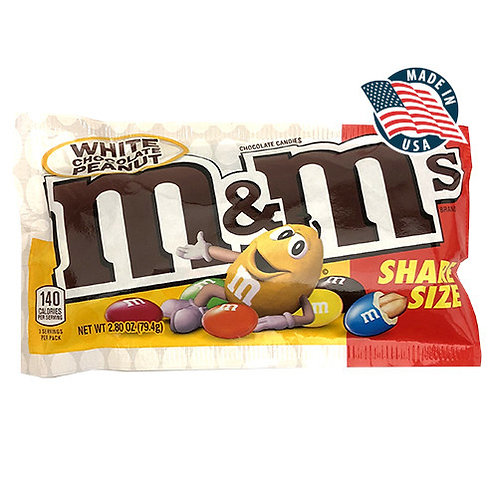 M&M'S WHITE CHOCOLATE PEANUT