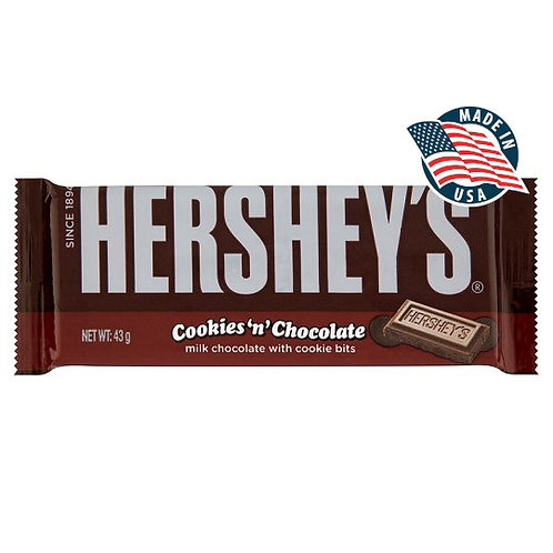 HERSHEY'S COOKIES'N'CHOCOLATE
