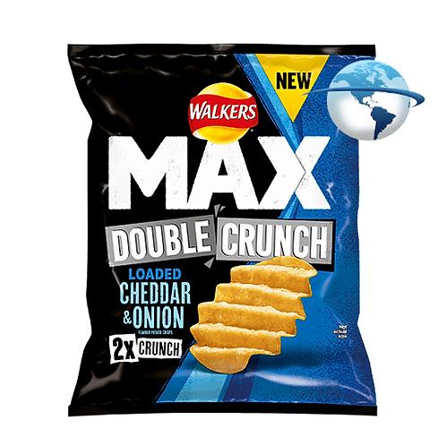 MAX DOUBLE CRUNCH LOADED CHEDDAR & ONION