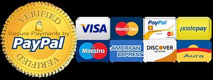 Pagamenti Accettati LittleAmericaNA Prodotti Americani USA