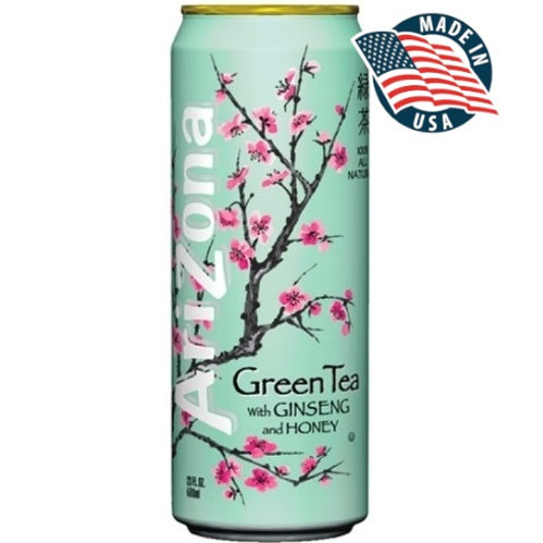 ARIZONA GREEN TEA GINSENG & HONEY