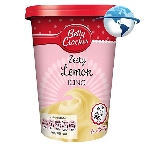 BETTY CROCKER ZESTY LEMON ICING