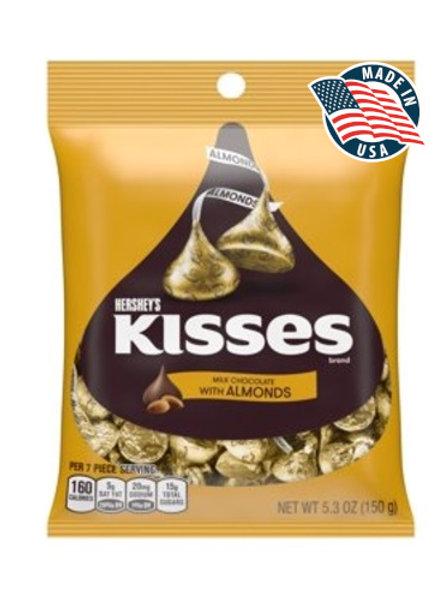 HERSHEY'S KISSES ALMONDS 150 GR