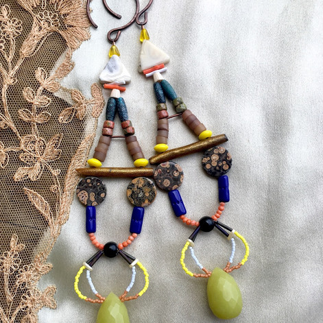 out of the ether earrings