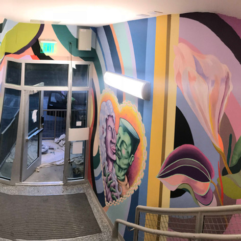 Crescent Care Clinic Mural, New Orleans