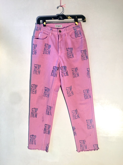 pink guess jeans 14 inch waist 38 inch Length