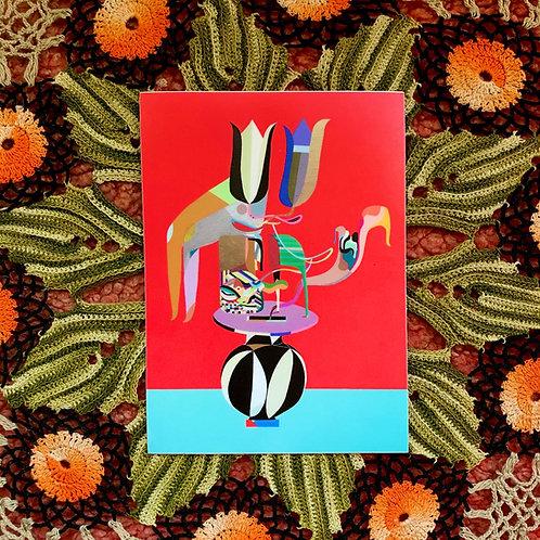 Petal pusher vinyl sticker 🌹
