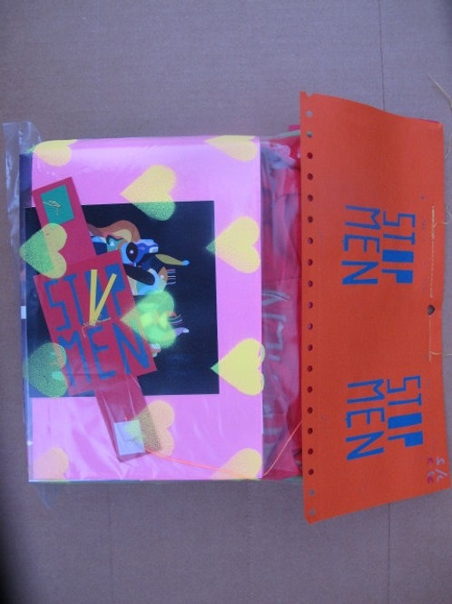 TWO T-Shirts paper watch & a 500 pg BOOK!!!