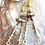 Thumbnail: Golden drip earrings
