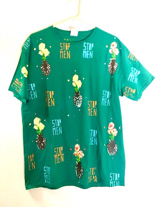 Green shirt 21 inch shorter 30 inch length size large