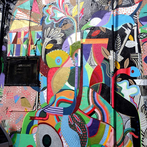 Sycamore Alley mission Mural// MCXT