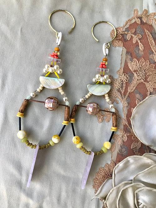 Angelic gauged earrings