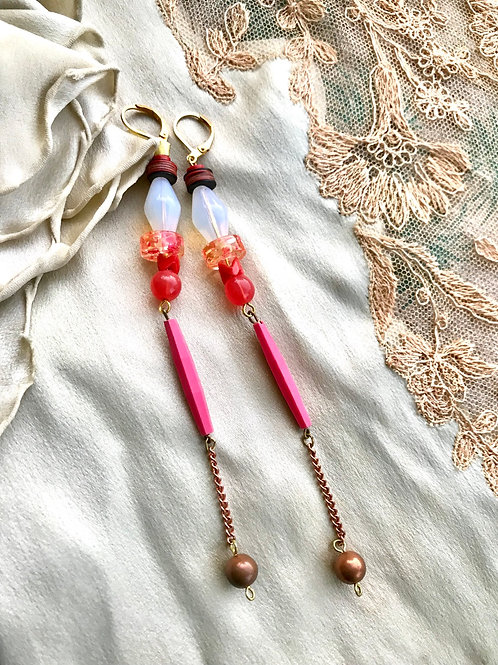 Pixi stick earrings